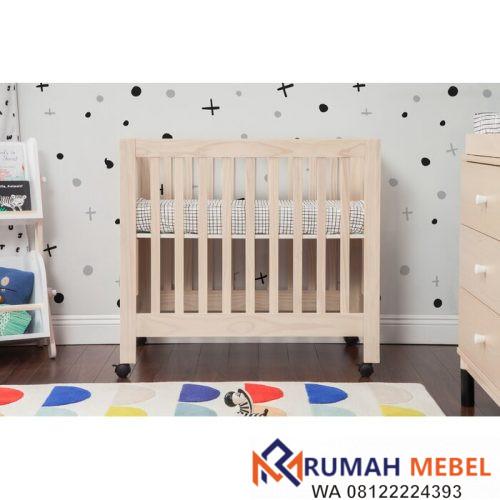 Tempat Tidur Bayi Lipat Mini Origami