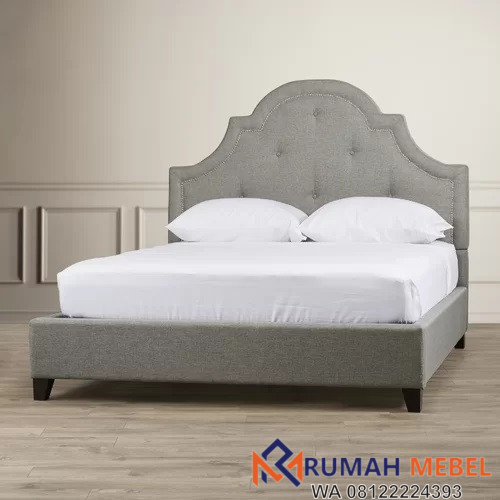Dipan Tempat Tidur Modern Ratu