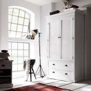 Lemari Pakaian Minimalis Putih 2 PintuLemari Pakaian Minimalis Putih 2 Pintu