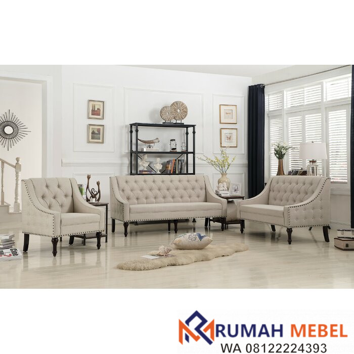 Set Kursi Sofa Minimalis Hunley