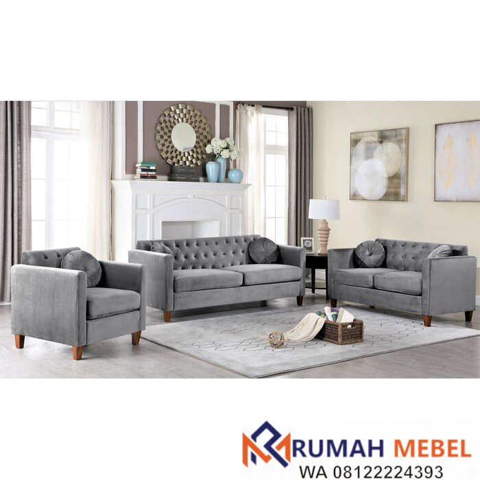 Set Sofa Minimalis Terbaru Beige