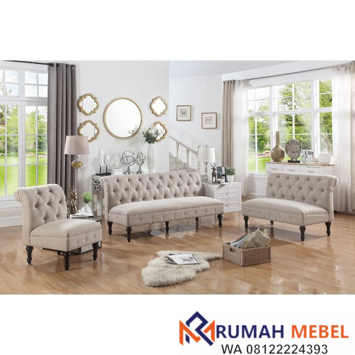 Set Kursi Tamu Sofa Lauryn