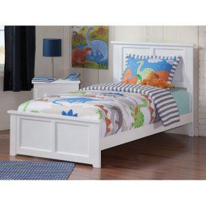 Tempat Tidur Anak Putih Alana