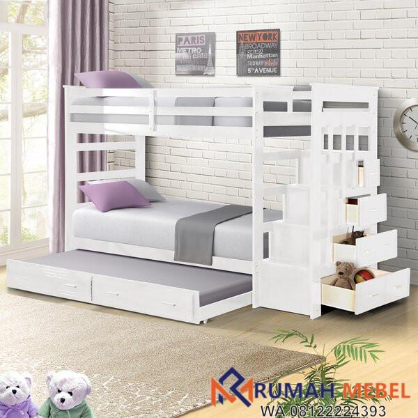 Tempat Tidur Susun Minimalis Leyburn