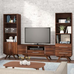 Set Bufet TV Minimalis Jati Barclay