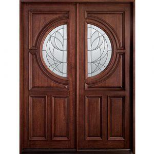 Pintu Rumah Kupu Tarung Jati