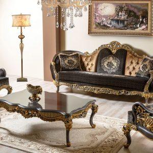 Set Sofa Mewah Klasik Paris