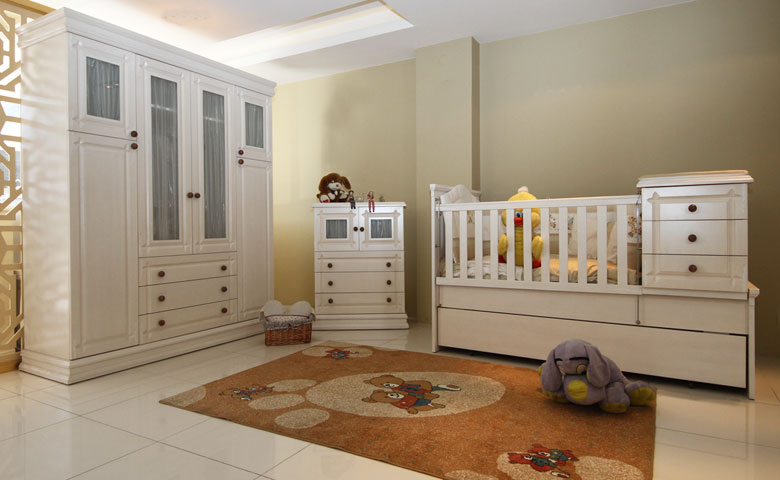 Set Tempat Tidur Bayi Bellina