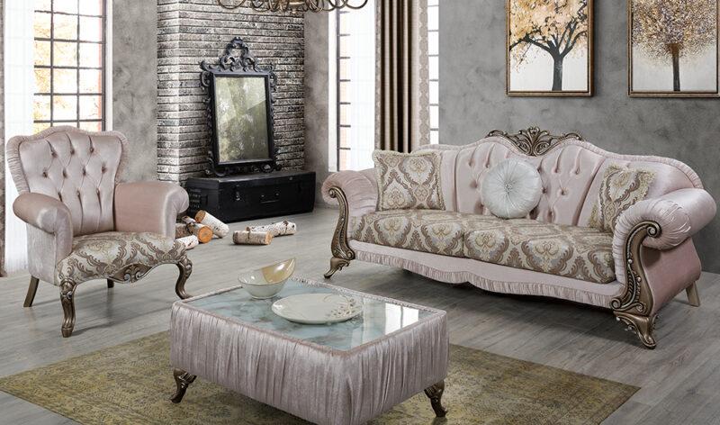 Sofa Mewah Ravenna Klasik