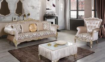 Sofa Ruang Tamu Mewah Salkim