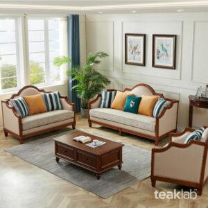 Kursi Tamu Minimalis Jati Sofa Modern