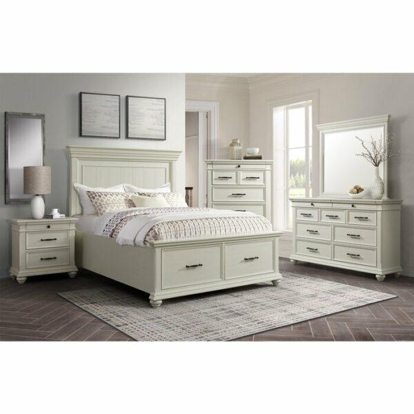 Kamar Set Minimalis Mewah Putih