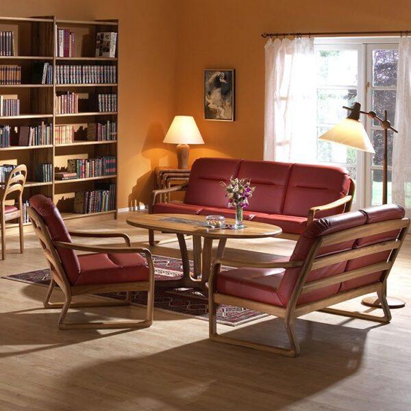 Kursi Sofa Unik Modern Jati