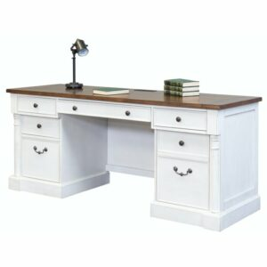 Meja Kerja Minimalis Putih Terbaru