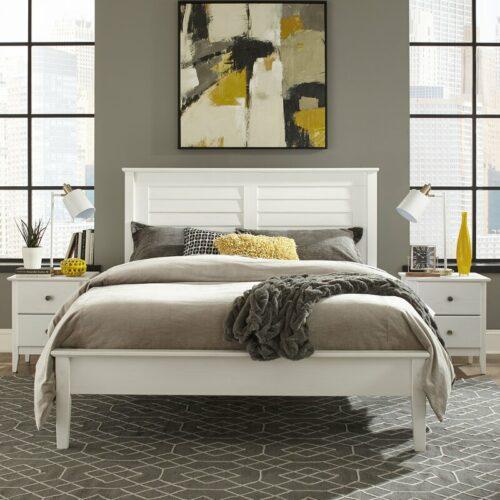 Set Kamar Tidur Minimalis Putih