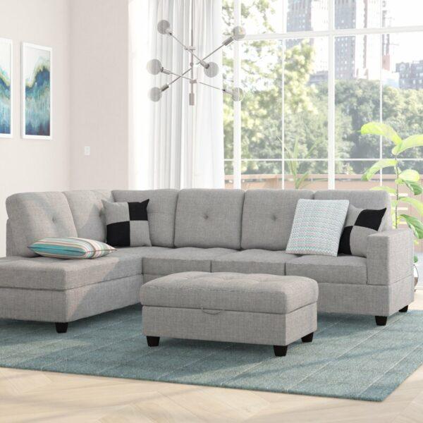 Sofa Sudut Minimalis Mauzy