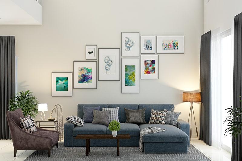 Dekorasi Ruang Tamu Sederhana Tapi Menarik