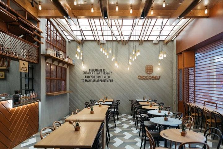 Desain Cafe Minimalis Rumahan