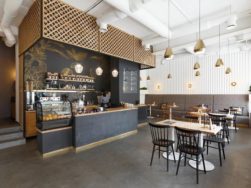 Desain Interior Cafe Minimalis