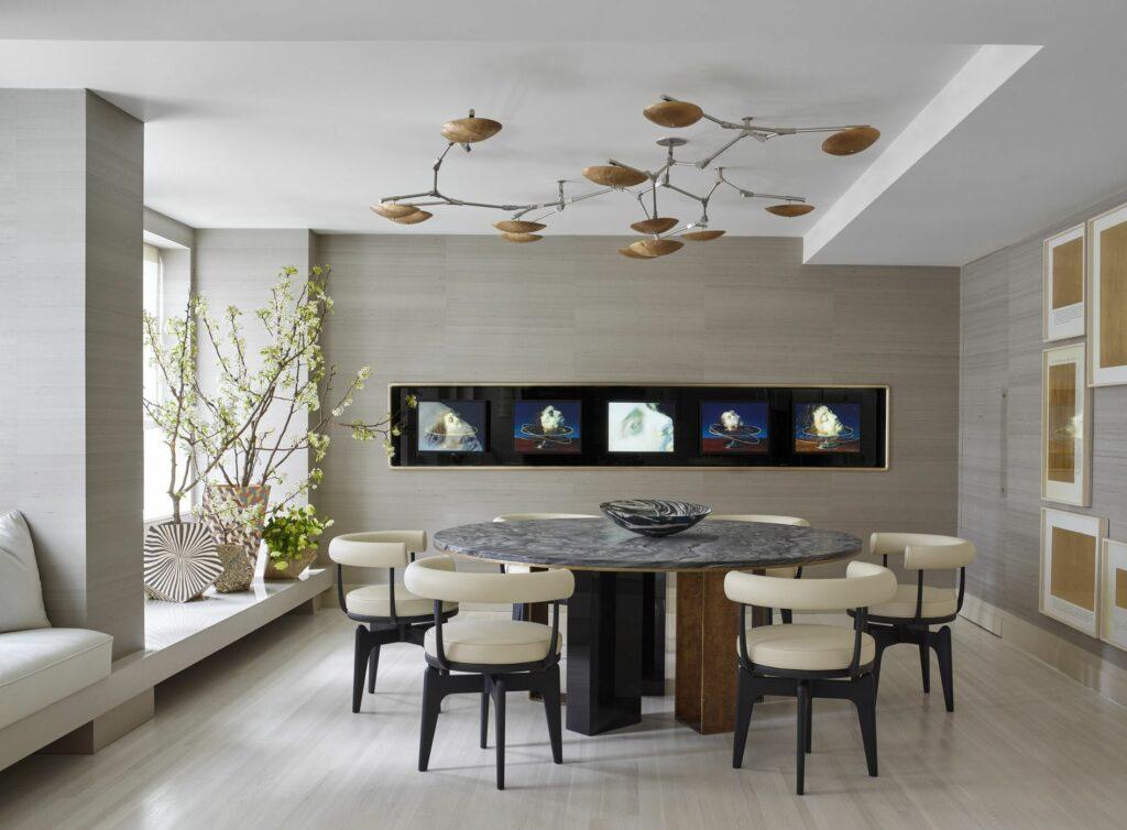 dekorasi ruang makan minimalis