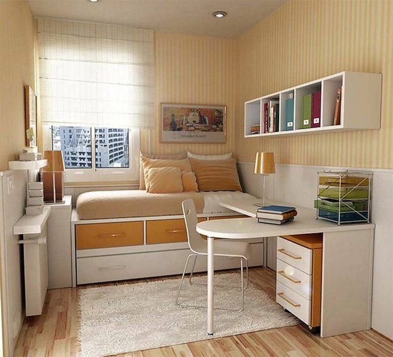 Desain Kamar Tidur Minimalis 2x3