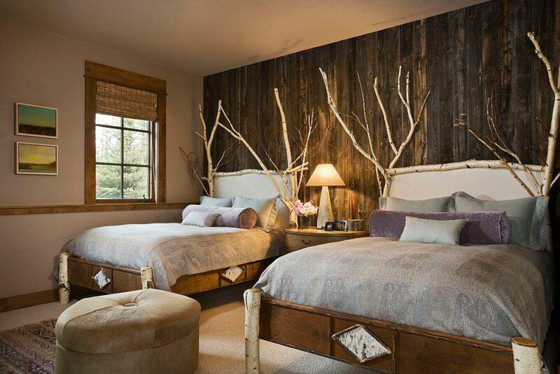 Hiasan dinding kamar dari ranting pohon kering