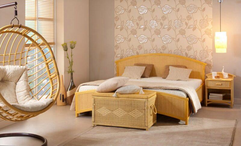 Set Furniture Rotan untuk Kamar Tidur