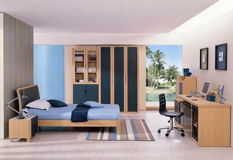 desain kamar tidur sederhana ala korea